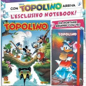 Topolino N° 3433 + Agenda Notebook Zio Paperone