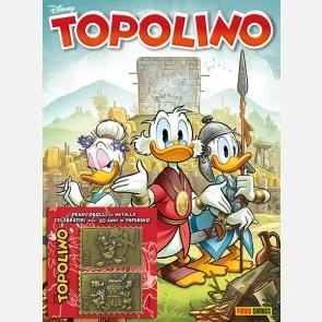 Topolino 3384 con 2 Francobolli Paperino e Nonna Papera + Pa...