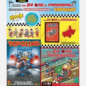 Topolino N° 3416 + Scatola + Istruzioni + Limousine di Pape...