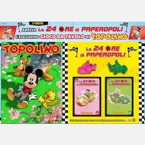 Topolino N° 3418 + Auto Paperina e Gastone + 46 carte