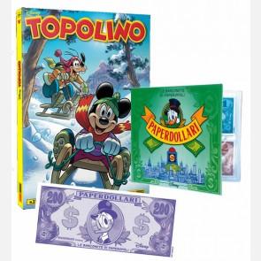 Topolino N° 3346 + Raccoglitore + Banconota 200 Paperdollar...