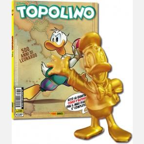 Topolino N° 3315 + Paperino Gold Edition 3D