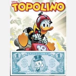 Topolino 3347 + Banconota Fantastiliardo Paperdollari (Zio P...
