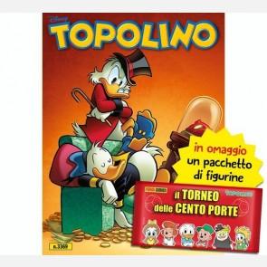 Topolino N° 3369 + 10 Figurine Il Torneo delle Cento Porte