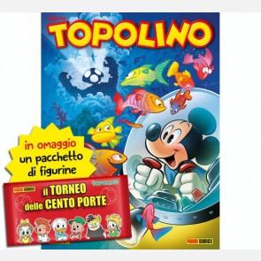 Topolino N° 3370 + 10 Figurine Il Torneo delle Cento Porte