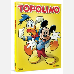 Topolino N° 3380 con Cover Metal Gold da collezione