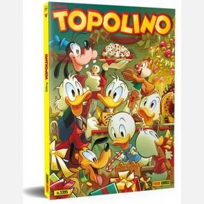 Topolino N° 3395 + Poster di Natale di Andrea Freccero