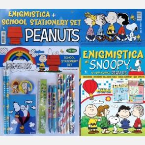 Enigmistica di Snoopy + School Stationery Set