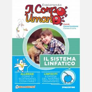 """Fascicolo """"Il Sistema linfatico"""" + DVD in HD"""