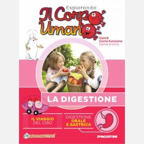 """Fascicolo """"La digestione"""" + DVD in HD"""