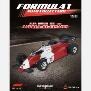 Alfa Romeo 182 - 1982 - Andrea De Cesaris