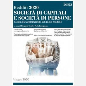 Redditi 2020 - Società di capitali e società di persone