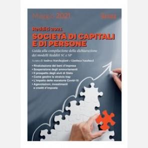 Redditi 2021. Società di capitali e di persone