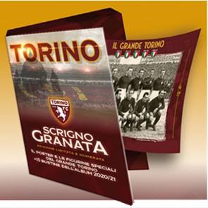 Scrigno Granata + Poster + Figurine speciali + 15 Bustine