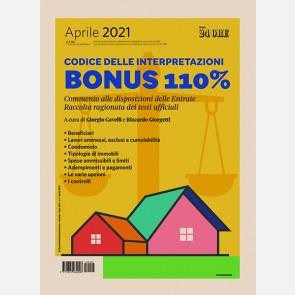 BONUS 110% - Codice delle interpretazioni