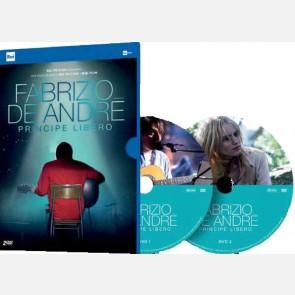 Fabrizio De Andrè - Principe libero (2 DVD)