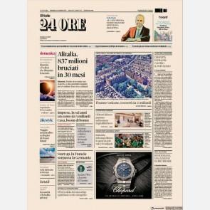 Ediz. di Domenica 03 Novembre