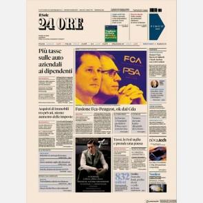 """Ediz. di Giovedì 31 Ottobre + I libri del Sole24h """"Guida ri..."""