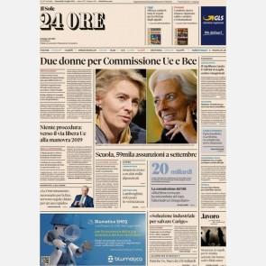Ediz. di Mercoledì 03 Luglio + I Focus n. 24