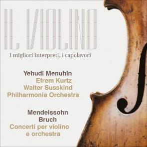 Bach/Mendelssohn, Yehudi Menuhin - Concerti per violino