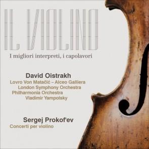 Prokof'ev, David Fëdorovič Ojstrach - Concerti per violino