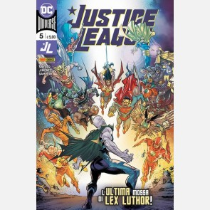 Justice League n 5 - L'ultima mossa di Lex Luthor!