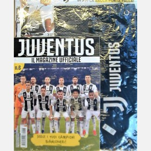 Juventus Magazine N. 6 + Sacca porta palla