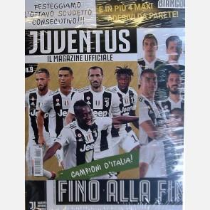 Juventus Magazine N. 9 + 4 MAXI adesivi da parete