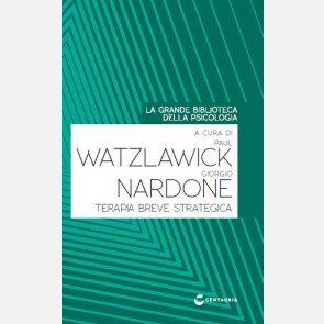 Watzlawick P. - Nardone G. -Terapia breve strategica