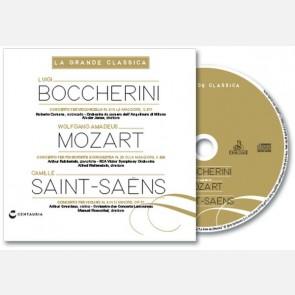 Luigi Boccherini, Wolfgang Amadeus Mozart, Camille Saint-Saëns