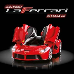 Costruisci LaFerrari in scala 1:8 (ed. 2016)