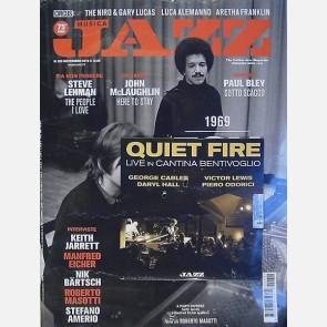 Novembre 2019 con CD (Quiet Fire Live in Cantina Bentivoglio...