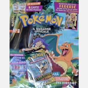 N. 3 / 2021 + 2 bustine con 6 card Pokemon!