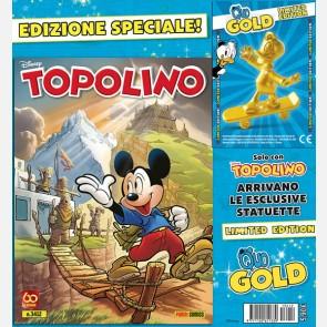 Topolino N° 3412 + Quo con lo skate Gold