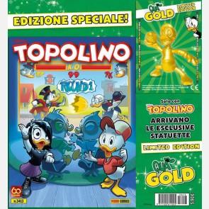Topolino N° 3413 + Qua giocatore di football Gold