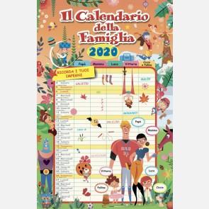 Il calendario della famiglia 2020