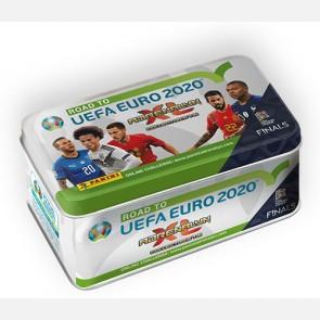 TIN BOX (36 Cards + 4 Limited Edition: CRISTIANO RONALDO Por...