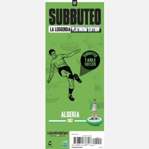 Algeria 1982 - Sticker Subbuteo