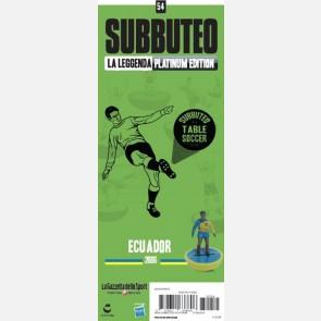 Ecuador 2006 + Sticker Gazzetta