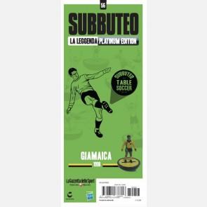 Giamaica 1998 + Sticker Gazzetta