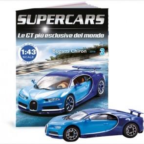 Bugatti Chiron (2016) + Raccoglitore fascicoli