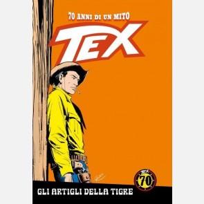 Fumetto TEX a colori 70 Anni di un Mito n 45 Fuoco nella notte