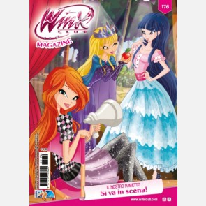 Winx Club N° 176 + Magico Lipstick di Bloom + Beauty Case g...