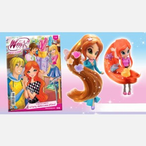 Winx Club N° 179 + Bloom o Flora Magic Style
