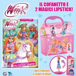 Winx Club N° 196 + Cofanetto con 2 magici lipstick