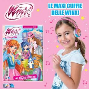 Winx Magazine N° 198 + Maxi Cuffie