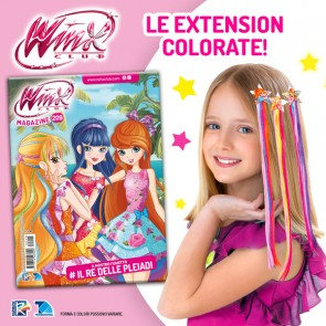 Winx Magazine N° 209 + Extension Colorate