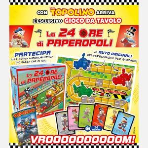Disney Topolino presenta La 24 Ore di Paperopoli