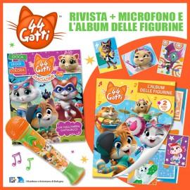 Numero 19 + Microfono + Album delle figurine