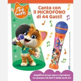 Il microfono di 44 Gatti
